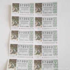 Lotería Nacional: BILLETE LOTERÍA NACIONAL, SORTEO 6/20,18 ENERO 2020, CUEVA DEL AGUA, QUESADA - JAÉN. Lote 194946758