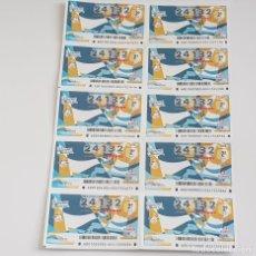 Lotería Nacional: BILLETE LOTERÍA NACIONAL, SORTEO 1/20,2 ENERO 2020, VALORES LIVE, SACRIFICIO, DEFECTO. Lote 194947126