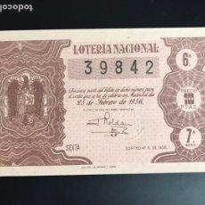 Lotería Nacional: LOTERIA AÑO 1956 SORTEO 3. Lote 195085662