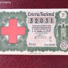 Lotería Nacional: LOTERIA AÑO 1952 SORTEO 28. Lote 195531642