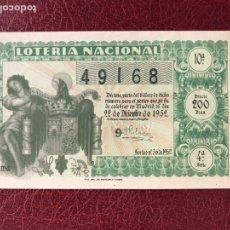 Lotería Nacional: LOTERIA AÑO 1952 SORTEO 36 NAVIDAD. Lote 195531758