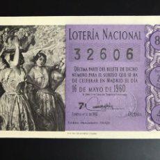 Loterie Nationale: LOTERIA AÑO 1960 SORTEO 14. Lote 196743616