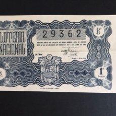 Lotteria Nationale Spagnola: LOTERIA AÑO 1946 SORTEO 16. Lote 198794961