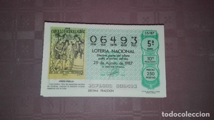 LOTE DE 100 NUMEROS DE LOTERIA DE LOS SABADOS REPETIDOS (Coleccionismo - Lotería Nacional)