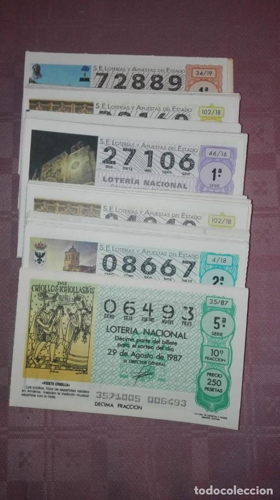 Lotería Nacional: lote de 100 numeros de loteria de los sabados repetidos - Foto 2 - 199834268