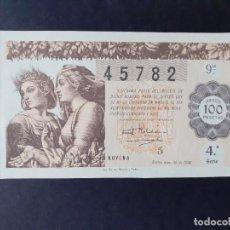 Lotería Nacional: LON1 463628 LOTERIA NACIONAL, AÑO 1946, SORTEO 36. Lote 200075013