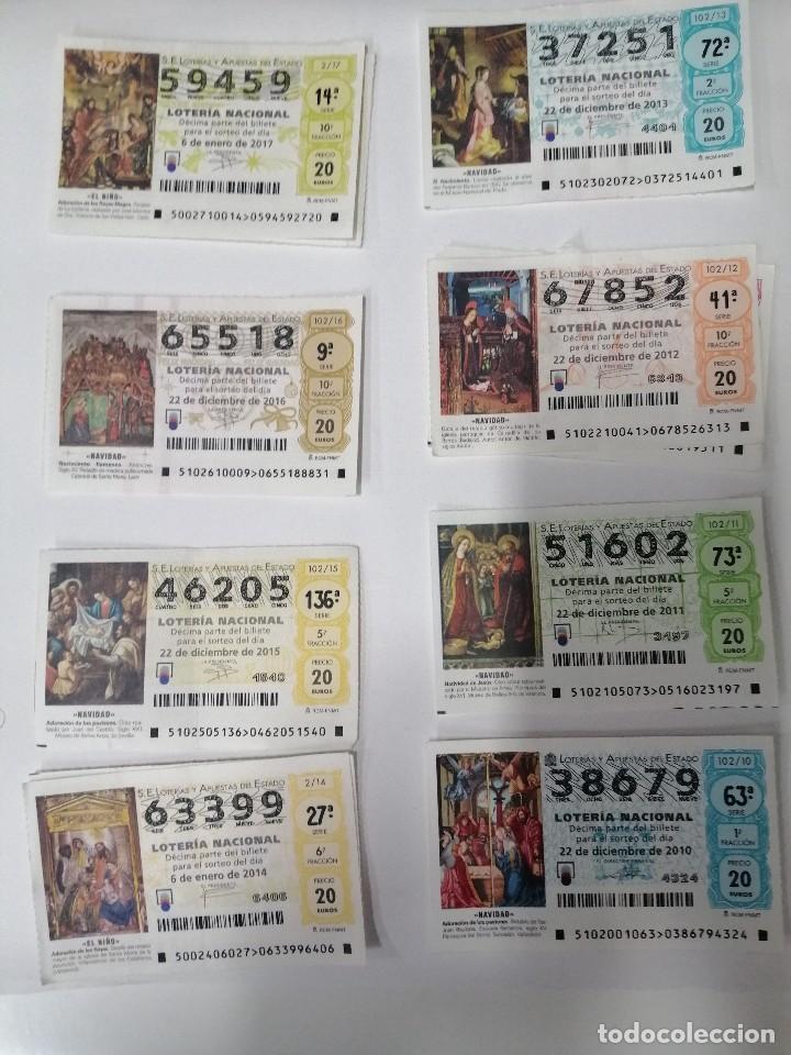 Lotería Nacional: BILLETES LOTERIA - Foto 4 - 200092622