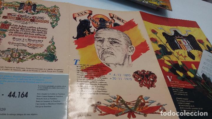 TRIPTICO DE LOTERIA DE NAVIDAD CON ILUSTRACIONES DE FRANCO Y JOSE ANTONIO (Coleccionismo - Lotería Nacional)