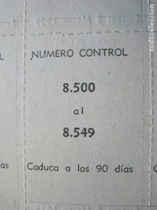 Lotería Nacional: ALADINO-HOJAS COMPLETAS DE CUPONES PARA SORTEO-1958 1959-50,25,10, 5 PTAS-VER FOTOS-(V-19.790) - Foto 5 - 202975101