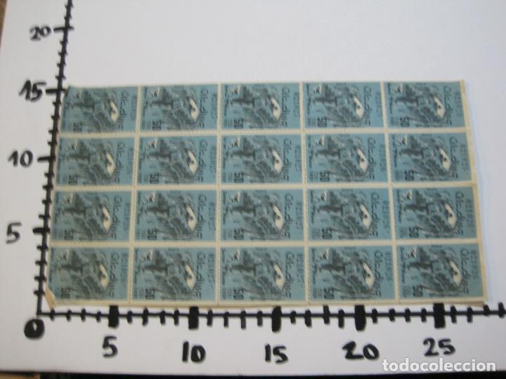 Lotería Nacional: ALADINO-HOJAS COMPLETAS DE CUPONES PARA SORTEO-1958 1959-50,25,10, 5 PTAS-VER FOTOS-(V-19.790) - Foto 6 - 202975101
