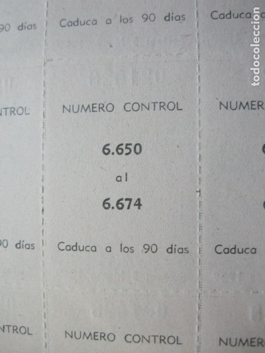 Lotería Nacional: ALADINO-HOJAS COMPLETAS DE CUPONES PARA SORTEO-1958 1959-50,25,10, 5 PTAS-VER FOTOS-(V-19.790) - Foto 9 - 202975101
