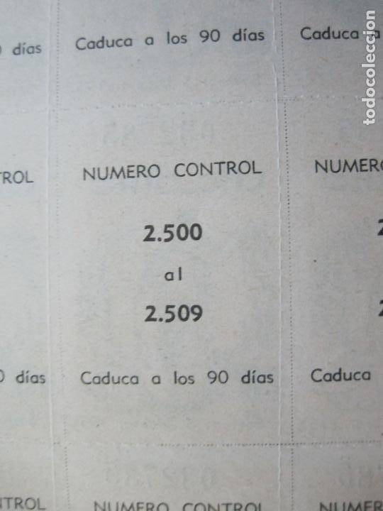 Lotería Nacional: ALADINO-HOJAS COMPLETAS DE CUPONES PARA SORTEO-1958 1959-50,25,10, 5 PTAS-VER FOTOS-(V-19.790) - Foto 13 - 202975101