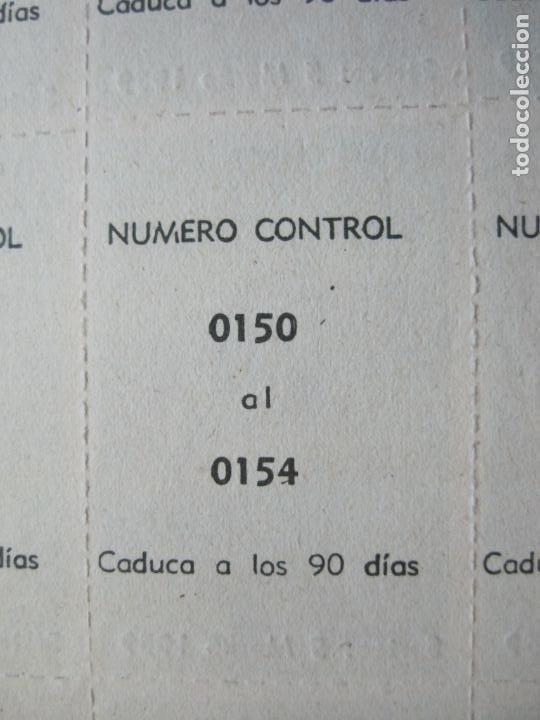 Lotería Nacional: ALADINO-HOJAS COMPLETAS DE CUPONES PARA SORTEO-1958 1959-50,25,10, 5 PTAS-VER FOTOS-(V-19.790) - Foto 18 - 202975101