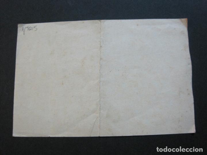 Lotería Nacional: BARCELONA-AMPARO DE SANTA LUCIA-SORTEO CHALET AVDA TIBIDABO-LOTERIA-AÑO 1906-VER FOTOS-(69.657) - Foto 9 - 203817373