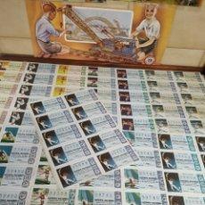 Lotería Nacional: 18 BILLETES LOTERÍA NACIONAL DE 1968. Lote 206819120