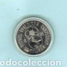 Lotería Nacional: MEDALLA O MONEDA DE CAMPEONATO MUNDIAL DE FUTBOL 1986 MEXICO. Lote 207708028