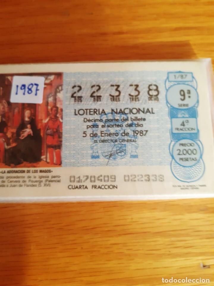 LOETRIA DE LOS SABADOS (Coleccionismo - Lotería Nacional)