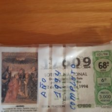 Lotería Nacional: LOTERIA DE LOS SABADOS. Lote 208238218