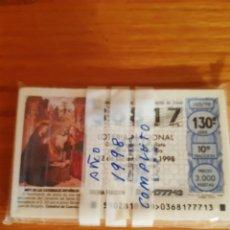Lotería Nacional: LOTERIA DE LOS SABADOS. Lote 208238695