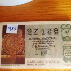 Lotería Nacional: LOTERIA DE LOS SABADOS. Lote 208239156