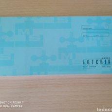 Lotería Nacional: LOTERÍA 100 HOJAS 200554 SOTO. CATALÁN NUEVO VINTAGE. Lote 209659498