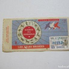 Lotería Nacional: SIGNOS DEL ZODIACO-LOTERIA NACIONAL-AÑO 1975-VER FOTOS-(V-20.958). Lote 209963225