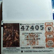 Lotería Nacional: LOTARIA NACIONAL SABADOS. Lote 210539311