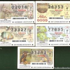 Lotaria Nacional: LOTERÍA NACIONAL Y AÑOS COMPLETOS. Lote 223107041