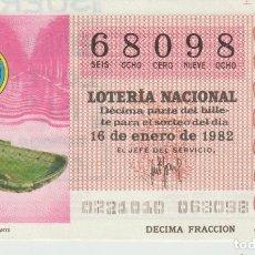 Lotería Nacional: LOTERIA NACIONAL MUNDIAL 1982. Lote 214881535