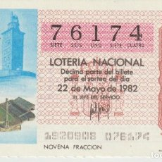 Lotería Nacional: LOTERIA NACIONAL MUNDIAL 1982. Lote 214881888