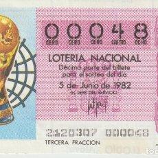 Lotería Nacional: LOTERIA NACIONAL - NUMEROS BAJOS. Lote 216572757