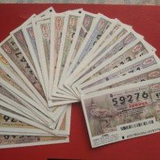 Loterie Nationale: LOTERIA NACIONAL AÑO 2008 COMPLETO DE LOS JUEVES. Lote 216713278