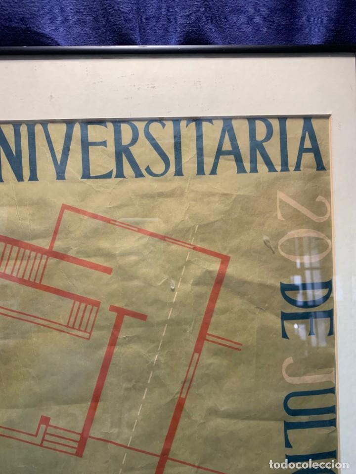 Lotería Nacional: CARTEL CIUDAD UNIVERSITARIA 3/4 20 JULIO 1940 LOTERIA DEL ALZAMIENTO 71X51CMS - Foto 4 - 217317186
