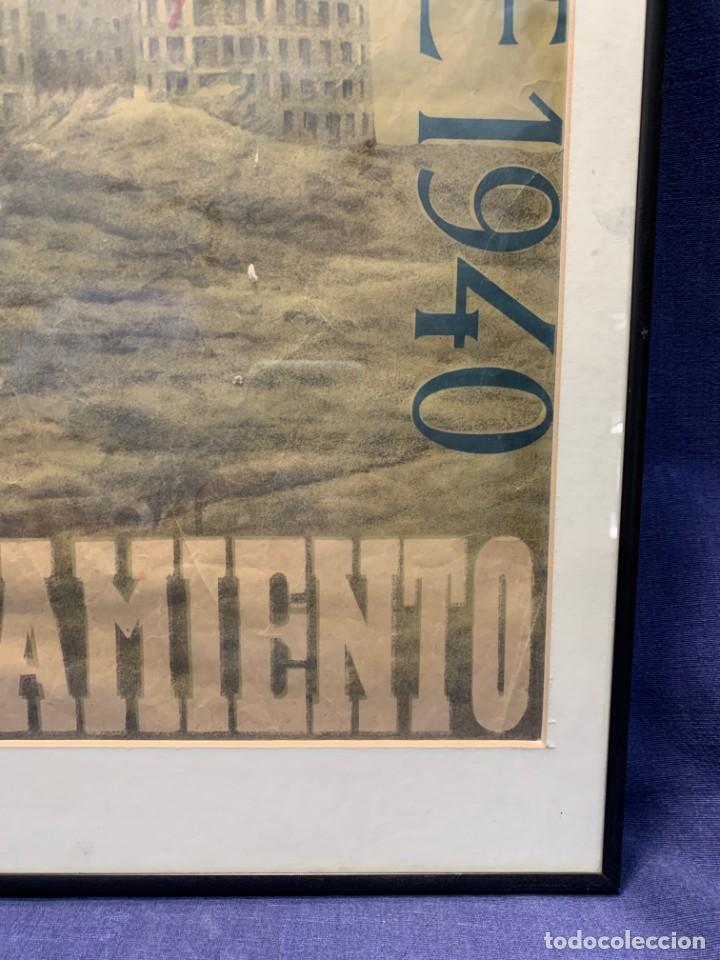 Lotería Nacional: CARTEL CIUDAD UNIVERSITARIA 3/4 20 JULIO 1940 LOTERIA DEL ALZAMIENTO 71X51CMS - Foto 10 - 217317186