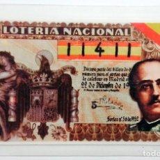 Lotería Nacional: DÉCIMO DE LOTERÍA NACIONAL, BILLETE Nº 11411 PARA EL SORTEO DEL DÍA 22 DE DICIEMBRE DE 1983. FRANCO.. Lote 217576127