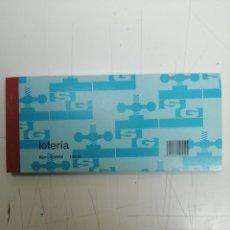 Lotería Nacional: LOTERIA NUM. 100554 100H, 1147301-1147400. Lote 217926085