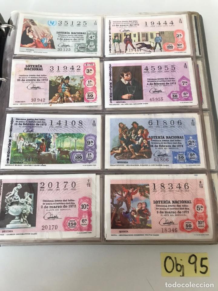 LOTE DE LOTERÍA NACIONAL AÑO 1972 (VER FOTOS) (Coleccionismo - Lotería Nacional)