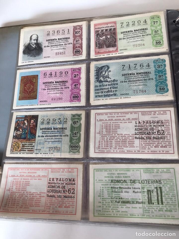 Lotería Nacional: LOTE DE LOTERÍA NACIONAL AÑO 1974 (VER FOTOS) - Foto 4 - 218492133