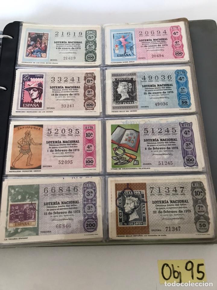 LOTE DE LOTERÍA NACIONAL AÑO 1975 (VER FOTOS) (Coleccionismo - Lotería Nacional)
