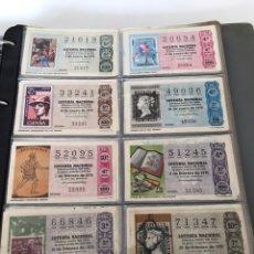 Lotería Nacional: LOTE DE LOTERÍA NACIONAL AÑO 1975 (VER FOTOS). Lote 218492213