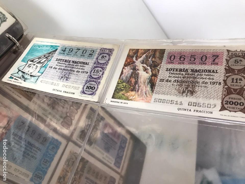 Lotería Nacional: LOTE DE LOTERÍA NACIONAL AÑO 1978 (VER FOTOS) - Foto 5 - 218492487