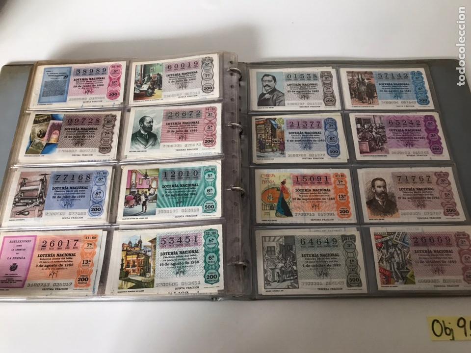 Lotería Nacional: LOTE DE LOTERÍA NACIONAL AÑO 1980 (VER FOTOS) - Foto 3 - 218493837