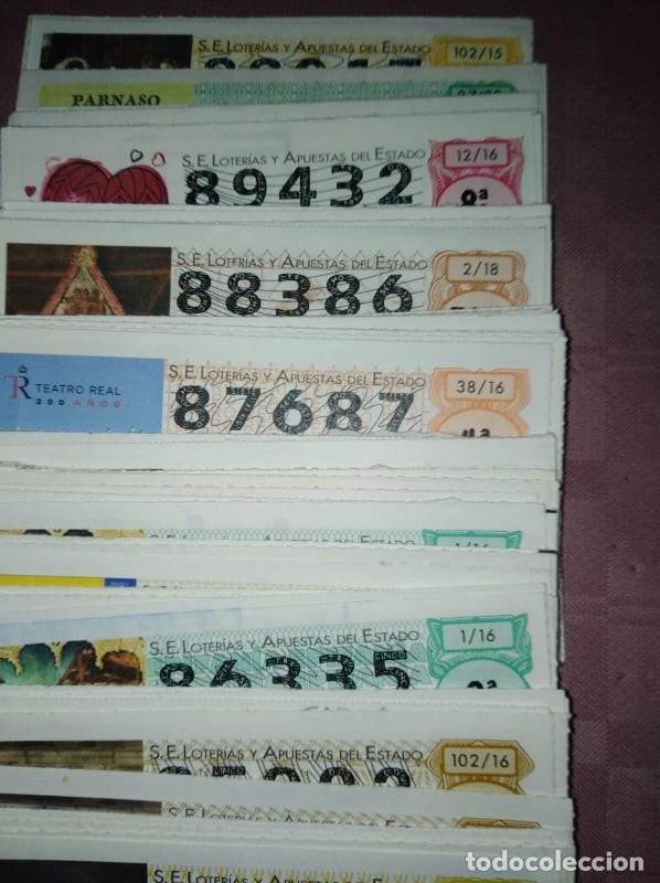 Lotería Nacional: 183 decimos de loteria nacional de los sabados del 80.000 al 89.000 - Foto 5 - 219717593