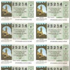 Lotteria Nationale Spagnola: 1993 BILLETE LOTERÍA NACIONAL SORTEO Nº 72. Lote 220670242