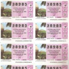 Lotteria Nationale Spagnola: 1993 BILLETE LOTERÍA NACIONAL SORTEO Nº 76. Lote 220670926