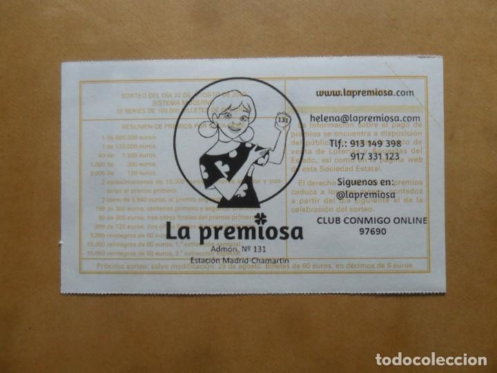 Lotería Nacional: DECIMO - Nº 69615 - 22 AGOSTO 2020 - 44/20 - MINISTERIO DE TRABAJO Y ECONOMIA SOCIAL - Foto 2 - 220957501