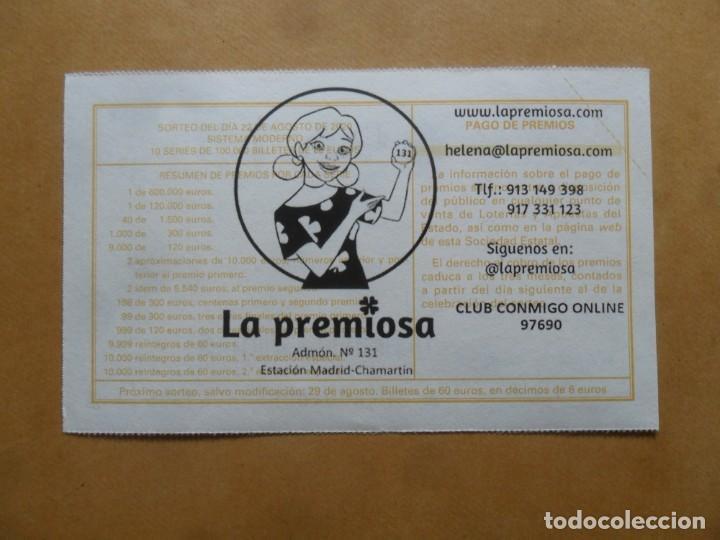 Lotería Nacional: DECIMO - Nº 69615 - 22 AGOSTO 2020 - 44/20 - MINISTERIO DE TRABAJO Y ECONOMIA SOCIAL - Foto 2 - 220957765