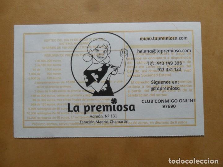 Lotería Nacional: DECIMO - Nº 65951 - 22 AGOSTO 2020 - 44/20 - MINISTERIO DE TRABAJO Y ECONOMIA SOCIAL - Foto 2 - 220957845