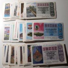 Lotería Nacional: BILLETES DE LOTERIA. Lote 222429185