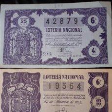 Lotería Nacional: LOTERIA. Lote 222435277